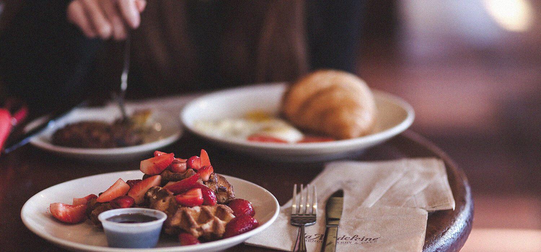 5 desayunos en 5 minutos